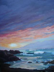 barnyard and pacific sunset 012